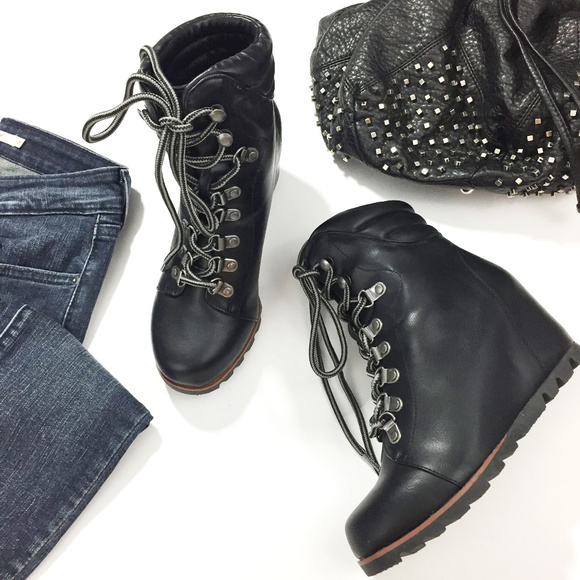 9218d4d084ea Esprit Shoes - Esprit Sammie Wedge Boots NWOB